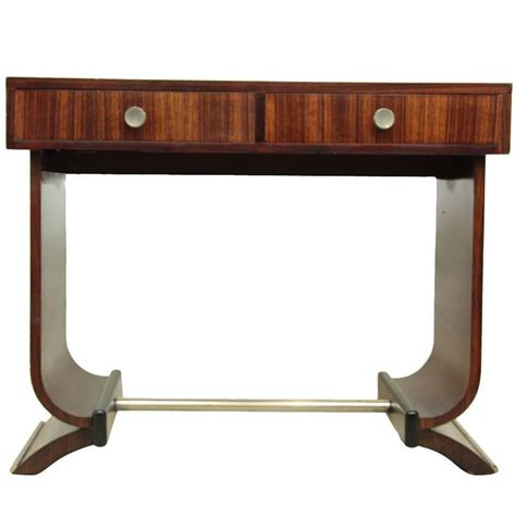deco console table deco console table in rosewood circa 1920 at