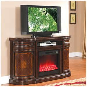 60 quot cherry media electric fireplace at big lots places