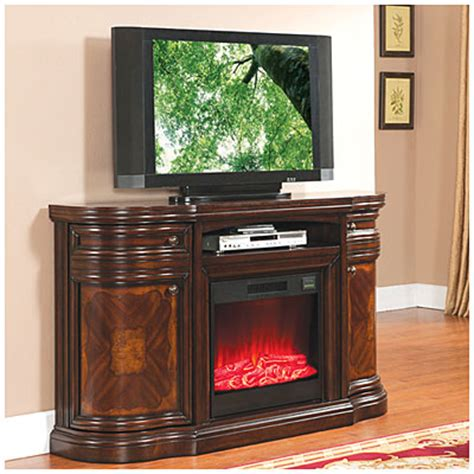 electric fireplace deals view 60 quot cherry media electric fireplace deals at big lots