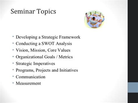 Seminar Topics For Mba Hr by Creating A Strategic Plan 5 9 15