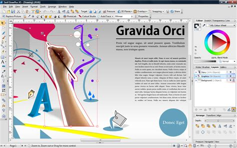 graphic design software free draw plus x5 graphic design software for pc