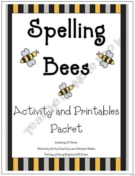printable spelling bee games 37 best spelling bee suff images on pinterest bees bee