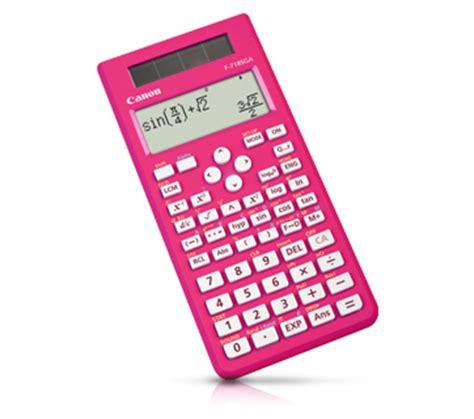 Calculator Canon F 715sg Series personal product f 718s