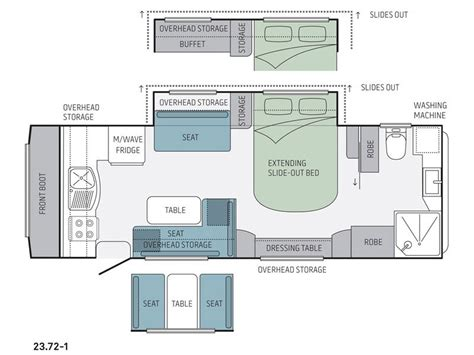 jayco caravan floor plans new jayco silverline 23 72 1 ob caravans for sale