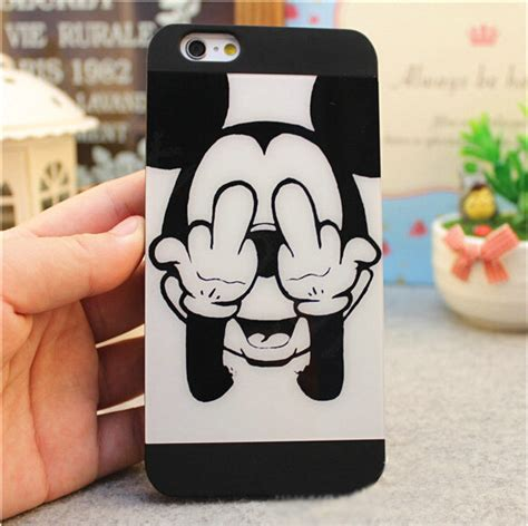 I Phone 7 Mickey Black buy wholesale brand mickey mouse covers plastic matte back cases for iphone 7