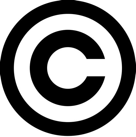 copyright logo png clipart