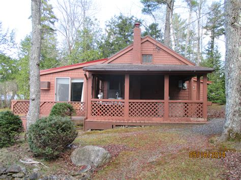 The Cabin Bath Maine by 1135155 3 Bedroom Cottage On Schoodic Lake Lake View