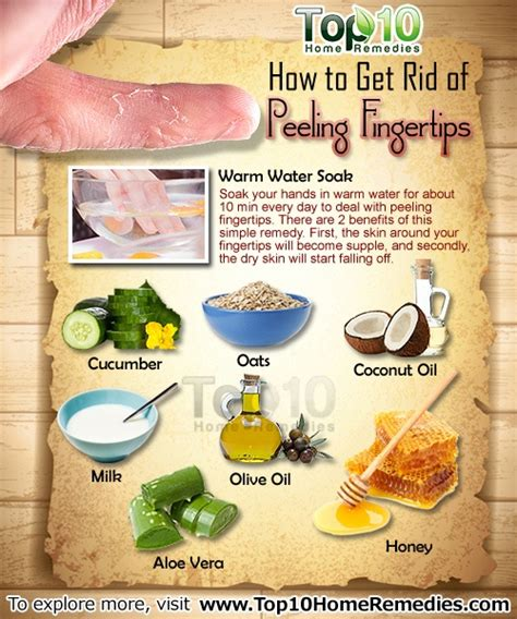 how to get rid of peeling fingertips top 10 home remedies