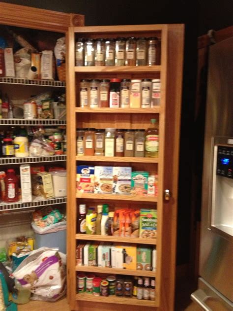 pantry door storage home decor door