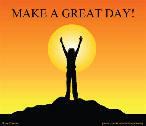great day make a great day performance chions