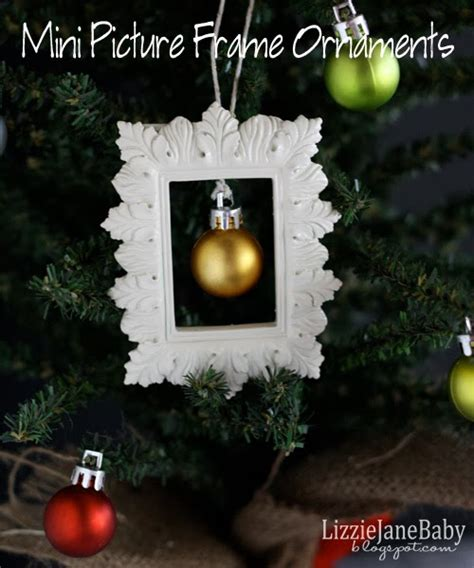 mini picture frame ornaments