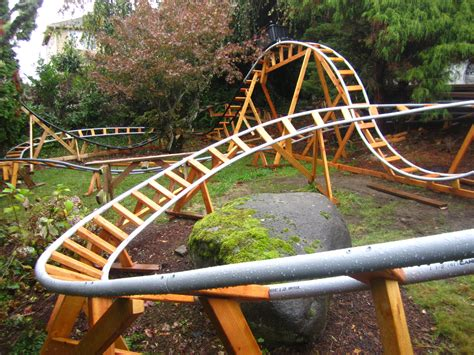 how to make a roller coaster in your backyard designing a safe backyard roller coaster with paul gregg