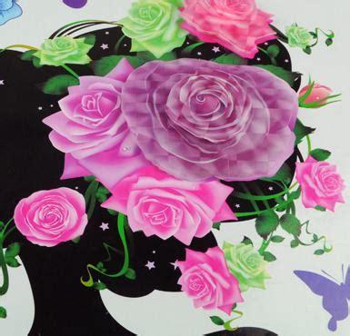 Wall Sticker 3d Xk0020 Stiker Dinding Timbul jual set stiker dekorasi dinding timbul 3d motif gadis bunga ramayana grosir