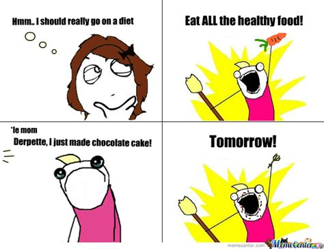 Eat All The Things Meme - diet my apricot life