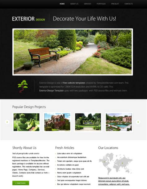 free css business website templates 125 free high quality xhtml and css website layout templates