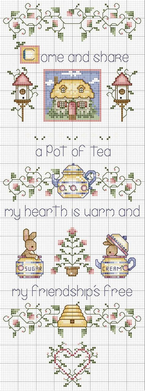 guid pattern xsd friendship stitches and charts on pinterest