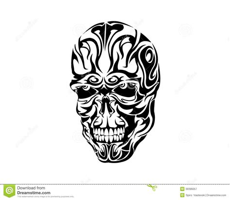 tribal skull tattoo design 50 amazing skull designs you will definitely