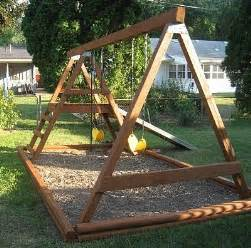 basic swing set diy basic swing set woodworking projects plans