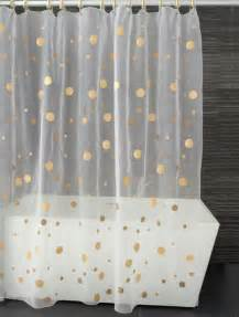Gold Polka Dot Curtains Gold Polka Dot Shower Curtain Happyness