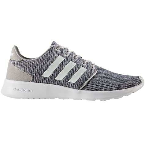 adidas womens athletic shoes adidas women s cloudfoam qt racer running shoes bob s stores