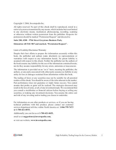 Ebook High Probability Trade Setups high probability trading free ebook free software and shareware tubeinsure