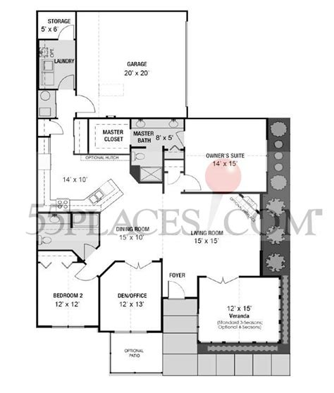 canterbury floor plan canterbury floorplan 1916 sq ft at jodeco 55places