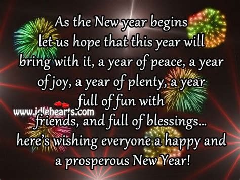 years sayings  pictures wishing   happy   prosperous  year ideas