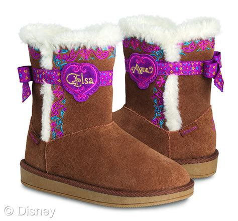 frozen boots disney s frozen clothing and toys arriving in stores
