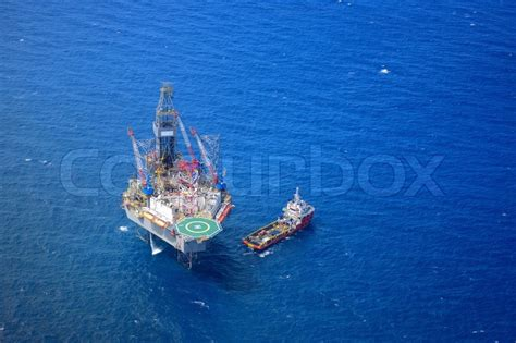 how to get a supply boat job the offshore drilling oil rig and supply boat top view