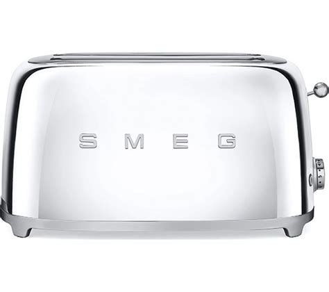 Black 4 Slice Toasters Buy Smeg Tsf02ssuk 4 Slice Toaster Chrome Free
