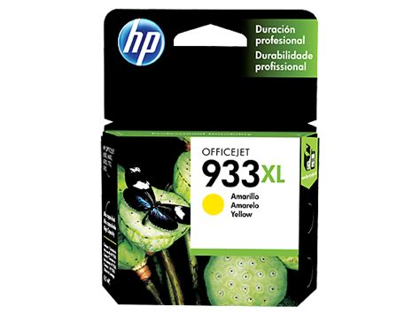 Cartridge Hp 933xl Yellow hp 933xl high yield yellow original ink cartridge cn056al