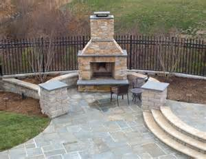 Garden Chimney Beautiful Pool With Bluestone Patios And Fireplace