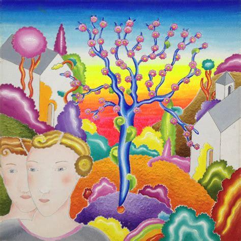 l albero fiorito quadro di luca alinari l albero fiorito