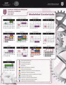 Calendario 2018 Ipn Calendarios Escolares 2013 2014 Escolar Mx