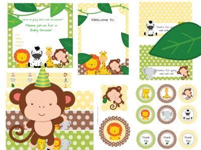 printable zoo banner jungle safari animal baby shower magical printable
