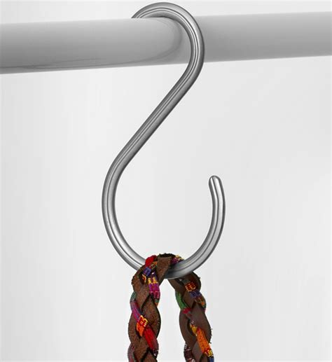 Hanger Rod For Closet by Closet Rod Hanger In Tie And Belt Hangers