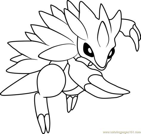 pokemon coloring pages sandile sandile coloring pages www pixshark com images