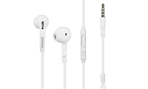 Earphone Samsung Galaxy samsung galaxy s7 headphones with mic groupon