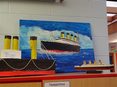 themes for ks2 titanic projects ks2 gillibrand primary school