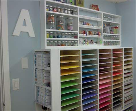 Papercraft Storage - craftaholics anonymous 174 craft room tour with scrap this