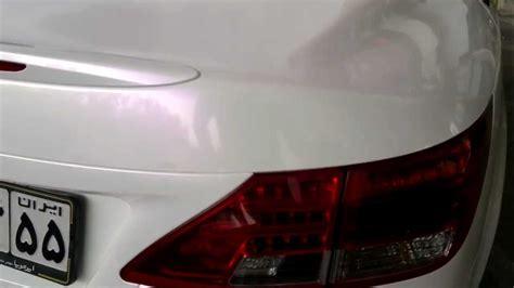 Folie Mit Farbcode by Lexus Is300c After Vollverklebung In Wei 223 Perlmutt Und