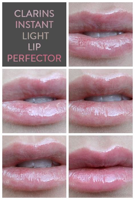 clarins instant light natural lip perfector review swatches clarins instant light natural lip
