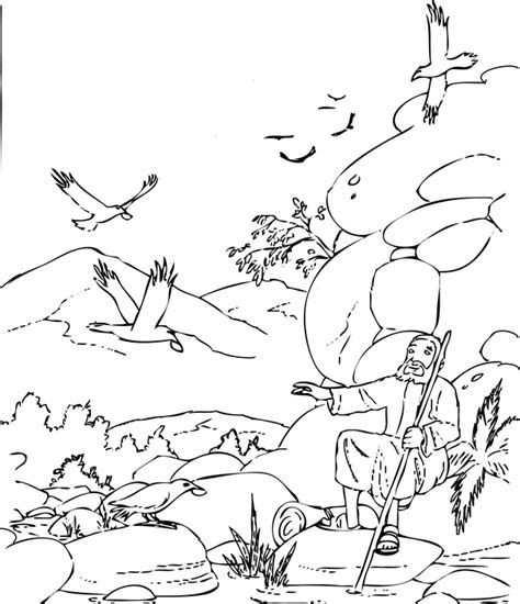 free bible coloring pages elijah prophet elijah bible coloring pages sketch coloring page