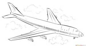 Draw A Plan how to draw an airplane step by step drawing tutorials