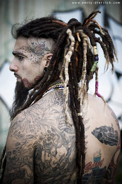 dreadlock models daze 2011 tattoos tattooed models photography