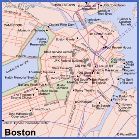 printable map boston maps boston map of boston free printable maps maps