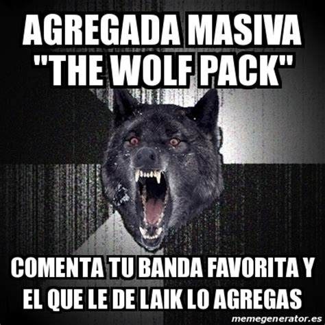 Wolf Pack Meme - wolf pack meme satoshi bitcoin wallet address