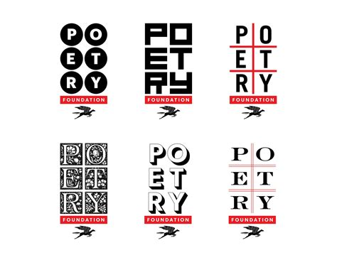 typography major pentagram gives poetry foundation changing visual