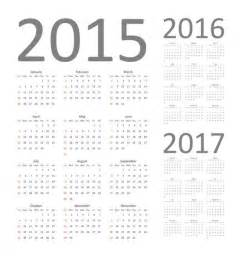 Calendar From 2014 To 2016 Calendar 2015 2016 And 2017