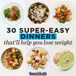 u weight loss recipes 30 easy dinners that ll help you lose weight